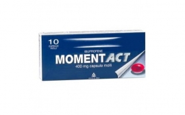 MOMENTACT10CPS MOLLI 400MG