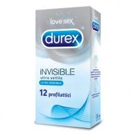 PROFIL.DUREX INVISIBLE X 12