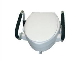 RIALZO WC CM.15 C/BRACC+COPE.